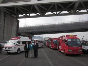 151104 Transportation of vehicles to El Salvador #1