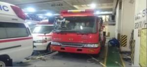 "170420 Fire engine being loaded on ""K"" Line's ""BRASILIA HIGHWAY"""