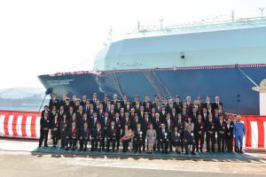 171024 Naming Ceremony OCEANIC BREEZE