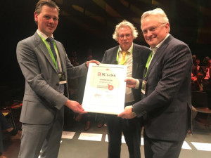 171225 Container Liner Shipping Award 2017 in Netherlands