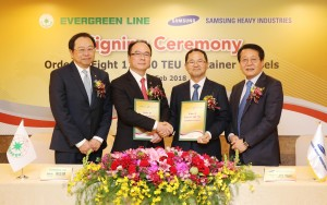 180208 Evergreen Orders Eight 11,000 TEU Containerships