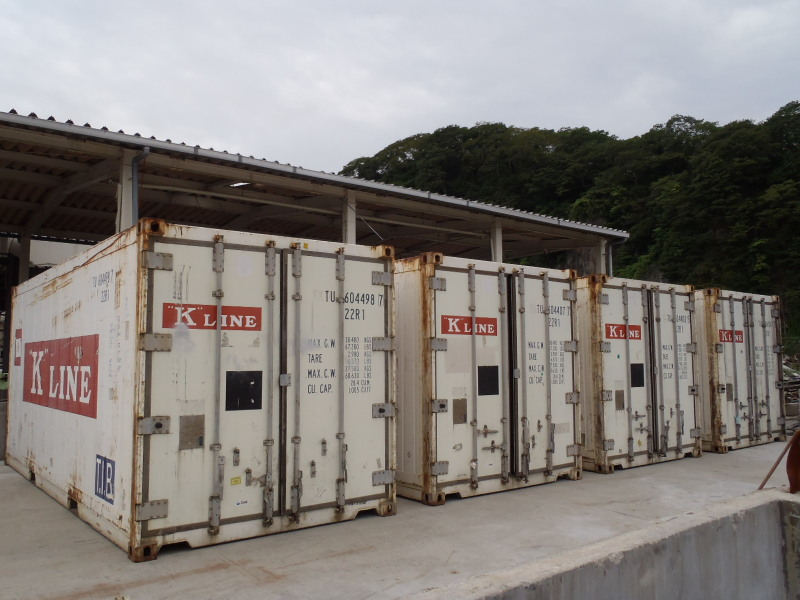 """K"""" Line Donates Reefer Containers to Quake-stricken Area in"""